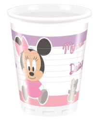 Minnie Mus Infant Plastkopper, 200ml (8 stk)