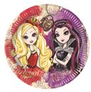 Ever After High Papptallerkner, store (23cm) 8stk