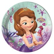 Sofia Pearl Of The Sea Papptallerkener, store (23cm) 8stk