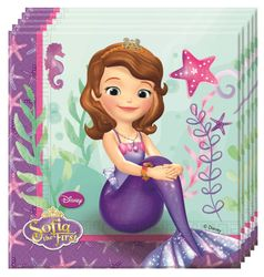 Sofia Pearl Of The Sea Servietter - 20 stk