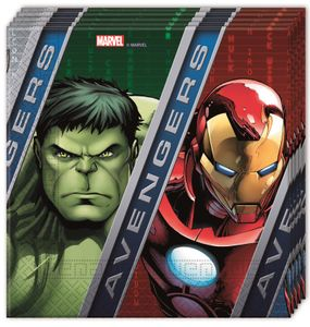 Avengers Power Servietter - 20 stk (126-86666)