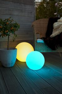 Globe LED-ball 480mm, oppladbart-batteri