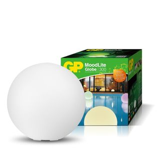 GP MoodLite Globe LED-ball 300mm, oppladbart-batteri (338-473001)