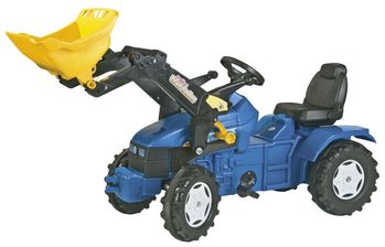 Rolly Toys New Holland TD5050 traktor+frontlaster