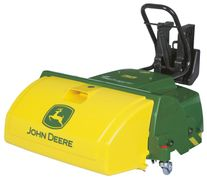 Rolly Toys rollyTrac Sweeper JohnDeere feiemaskin