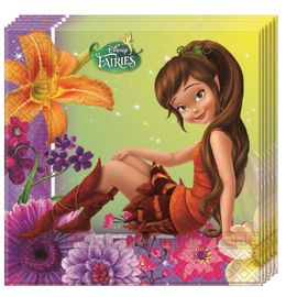 Disney Fairies Servietter - 20 stk