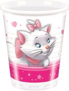 Disney Marie Plastkopper, 200ml (8 stk)