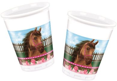 Lovely Horse Plastkopper,  200ml (8 stk) (126-87109)