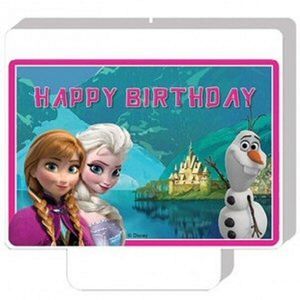 Frozen Dekorlys - Happy Birthday (126-84649)