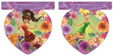Disney Fairies Flaggbanner med 9 flagg