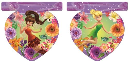 Disney Fairies Flaggbanner med 9 flagg (126-85634)