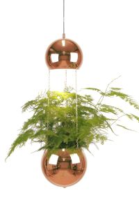 "Lampe ""Planter"" - kobberfinish"