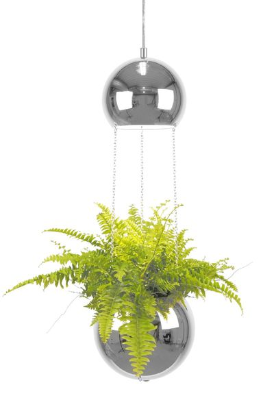 "Lampe ""Planter"" - kromfinish"