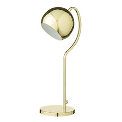Bloomingville Bordlampe Blank Gullfinish, H59cm