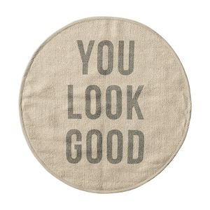 "Bloomingville Badematte ""You look Good"" (152-76304991)"