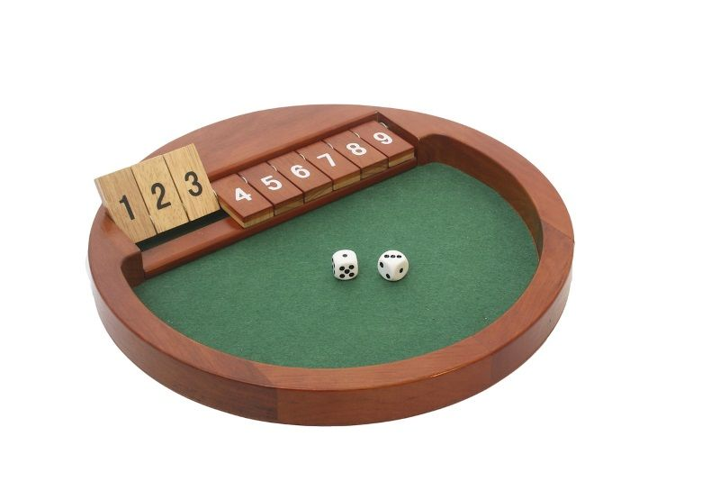 "Spill, ""Shut the box"""