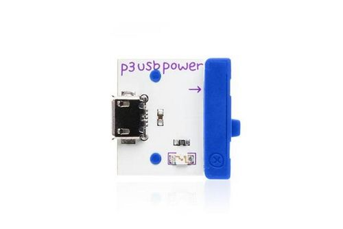 LittleBits USB Power - Grå (351-3300119)
