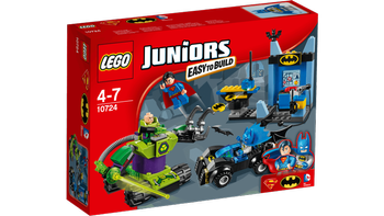 Lego® Juniors Batman, Superman og Lex-Luthor