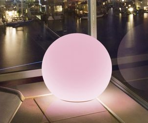 GP MoodLite Globe LED-ball 300mm, oppladbart-batteri