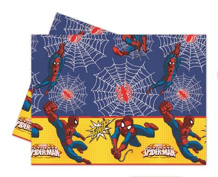 Ultimate Spiderman Power Plastduk str 120x180 cm
