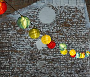 Trend Collection Lysslynge 20-LED plastballer, utendørs