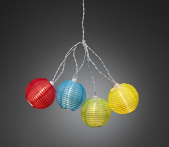 Trend Collection Lysslynge 20-LED plastballer,  utendørs (339-4160-502)