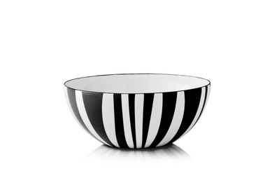 Cathrineholm Stripes Bolle Sort, 18cm (364-100349285)