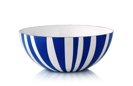 Cathrineholm Stripes Bolle Blå, 24cm (364-100349295)