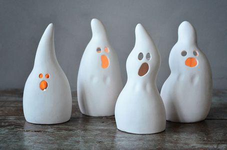 Trend Design Spøkelse Keramikk H15cm 4stk (298-H56603)