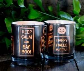 Majas Lyktor Telysholder Happy Halloween Keep-Calm