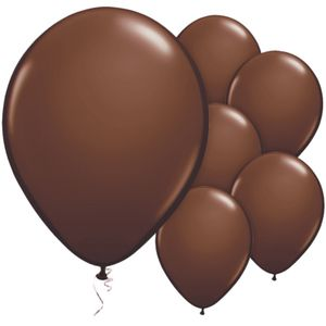 Party Ballonger Brune, 25 stk (332-BALL503)