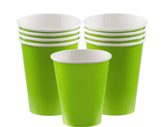 Party Pappkopper Limegrønn 266ml 8stk