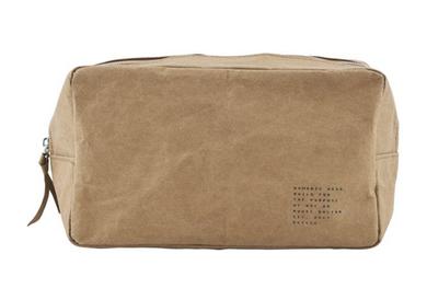 House Doctor Makeup-bag Nomadic, Lysebrun 24x10cm (151-Mn0600)