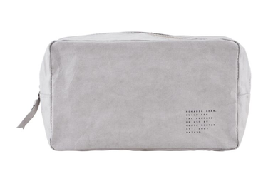 House Doctor Makeup-bag Nomadic, Grå 24x10cm (151-Mn0602)