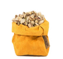 Uashmama Small Paper Bag, Mustard