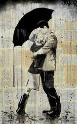 "Loui Jover Poster ""The Black Umbrella"""