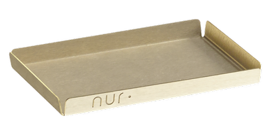 NUR Tray Small - Messing (381-02.03-03-07)