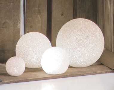 Home Collection Dekorball Vinter LED, Ø8cm (220-233015)