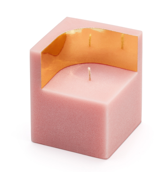 Ontwerpduo Auric Lys Pink-Quarts 7x7cm (230-034-pin-s)