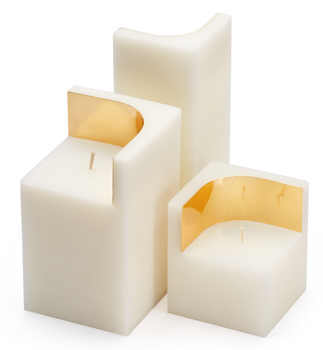 Ontwerpduo Auric Lys Ivory-White 7x7cm (230-034-whi-s)