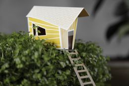 Ontwerpduo Cottage Town Lilly 15x7cm