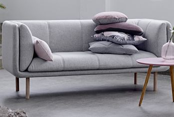 Bloomingville Stay Sofa, Grå ull