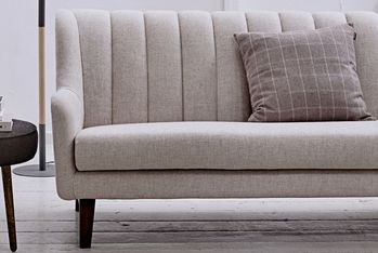 Bloomingville Stripe Sofa, Brun ull