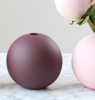 COOEE Ball Vase 10cm, Plomme (389-ball-plum-10cm)
