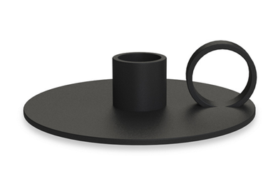 COOEE Loop Lysestake - Sort (389-loopcandlestick-black)