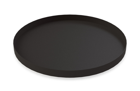 COOEE Brett Circle 30cm, Sort (389-tray-circle-black-30cm)