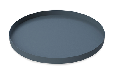 COOEE Brett Circle 30cm, Midnattsblå (389-tray-circle-midnightblue-30cm)