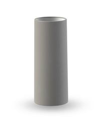 COOEE Tube Vase 11cm, Grå