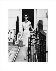 Vogue Poster August 1960, 40x34cm (365-VC110)