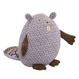 Bloomingville Mini Strikket Bever - Lilla (152-75115152)